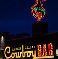 Cowboy Bar by Wildlife Fine Art