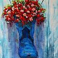 Cowboy Boot Unusual Pot Series  by Patricia Awapara