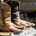 Cowboy Boots by Michael Moriarty