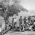Cowboy Camp, C1890 by Granger