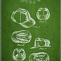 Cowboy Cap Patent - Green by Aged Pixel