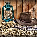 Cowboy Hat And Rodeo Lasso by Paul Ward