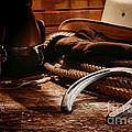 Cowboy Horseshoe by Olivier Le Queinec
