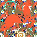 Cowboy Kaleidoscope by Beth Saffer
