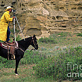 Cowboy Photographer 2 by Bob Christopher