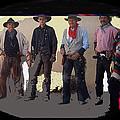 Cowboy Re-enactors O.k. Corral Tombstone Arizona 2004-2013 by David Lee Guss
