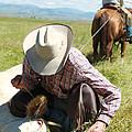Cowboy Signature 12 by Diane Bohna