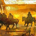 Cowboys Love To Ride by Carrie OBrien Sibley