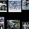Cowboys Triple Threat  Autographed Reprint by James Nance