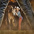 Cowgirl And Cowboy by Susan Candelario