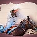 Cowgirl Barrel Racing 2 by Char Doonan
