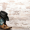 Cowgirl Boots by Olivier Le Queinec