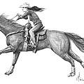 Cowgirl Full Out by Murphy Elliott