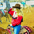 Cowgirl Waiting by Alice Gipson