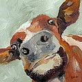 Cow's Eye View by Saundra Lane Galloway