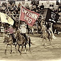 Cowtown Grand Entry by Alice Gipson