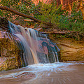 Coyote Gulch Falls by Michael J Bauer