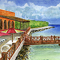 Cozumel Mexico Little Pier by Frank Hunter