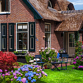 Cozy Corner. Giethoorn. Netherlands by Jenny Rainbow