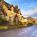 Cozy Cottage In A Scottish Village by Mark E Tisdale