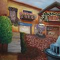 Cozy Courtyard by Tami Rounsaville