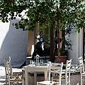 Cozy Greek Taverna by Frank Gaertner