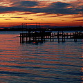 Crab Alley Sunset by Doug Edmunds