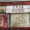 Crab And Oysters by Carol Leigh