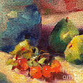 Crab Apples And Pears by Michelle Abrams