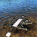 Crab Robot by Peter Menzel/science Photo Library