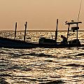 Crabbing On The Bay by David Kay