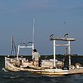 Crabbing Smith Island Md by David Kay