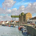 Crabbing - Wells-next-the-sea Norfolk by Richard Harpum