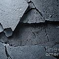 Cracked Asphalt Macro by Konstantin Sutyagin