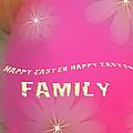Cracked Happy Easter by Debra     Vatalaro
