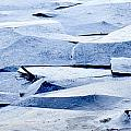 Cracked Icescape by Liz Leyden