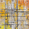 Cracked Wood Background by Carlos Caetano