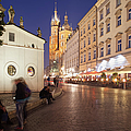Cracow By Night In Poland by Artur Bogacki