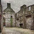 Craigmillar Castle Ruin Edinburgh by Sophie McAulay