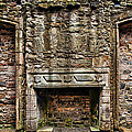 Craigsmillar Castle Fireplace by Marcia Colelli