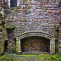 Craigsmillar Castle Kitchen Fireplace by Marcia Colelli