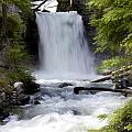 Crandel Creek Falls by Randy Giesbrecht