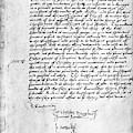 Cranmer Declaration, 1537 by Granger