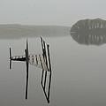 Crannog At Lake Knockalough by James Truett