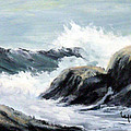 Crashing Sea by Lynne Parker