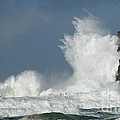 Crashing Surf by Bob Christopher