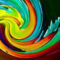 Crashing Wave by Amy Vangsgard