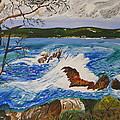 Crashing Wave by Eric Johansen