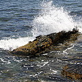 Crashing Waves - Rhode Island by Christiane Schulze Art And Photography