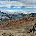 Crater At Haleakala by Bill Dodsworth
